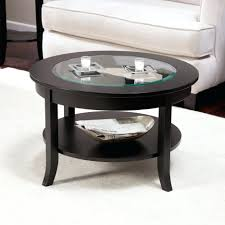 coffee tables breathtaking round leather coffee table with