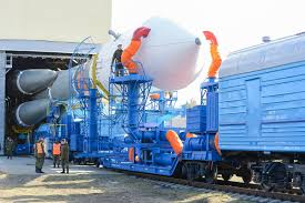 launch of the soyuz 2 rocket vehicle from the plesetsk cosmodrome