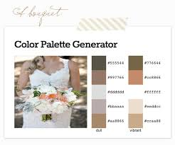 color palette for wedding how to find your wedding color palette chic