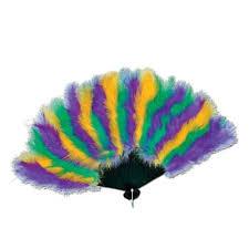 feather fan mardi gras feather fan partycheap