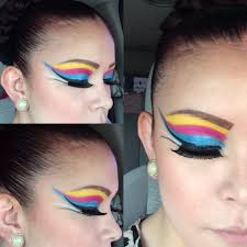 mexican folklore makeup folklorico pinterest makeup and