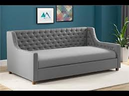 dhp jordyn upholstered daybed youtube