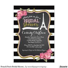 french paris bridal shower invitation parisian themed bridal