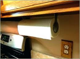 cabinet paper towel holder over the cabinet paper towel holder over cabinet door paper towel