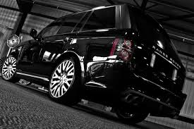 kahn land rover project kahn launches range rover vogue black edition