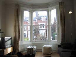 Curtains For Bay Window Bay Window Aluminium Curtain Track Design Ideas Decors