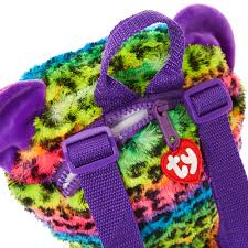 ty beanie boo dotty leopard backpack claire u0027s
