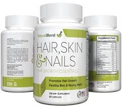 buy hair skin and nails vitamins 60 capsules new formula by