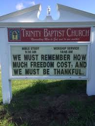 Thanksgiving Church Sign Sayings Church Signs Three Iron Nails Godinterest Lord Jesus