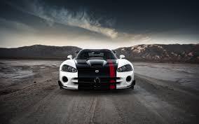 Dodge Viper White - wallpaper dodge viper white and black car road hd with image for
