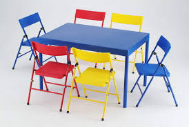 children s card table and folding chairs folding childrens table and chairs sanblasferry