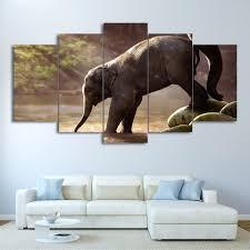 Home Decor Elephants Online Get Cheap Water Painting Elephant Aliexpress Com Alibaba