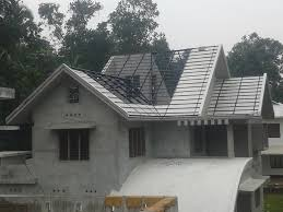Kerala Home Design Kottayam Truss Work Roof Work And Designig Kottayam
