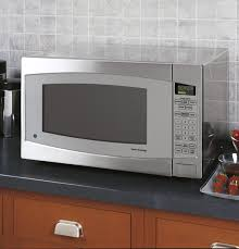 table top microwave oven ge profile series 2 2 cu ft capacity countertop microwave oven