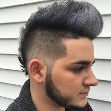 cool fohawk hairstyles grab handsome men look with fohawk haircut