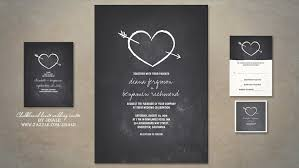 Cool Wedding Invitations Read More U2013 Chalkboard Heart Sketch Cute Wedding Invitation
