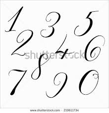 the 25 best number fonts ideas on pinterest chalkboard numbers