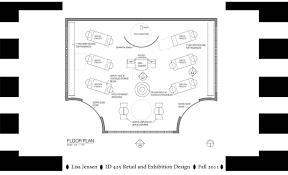 Clothing Store Floor Plan by Portfolio Lisamjensen