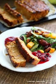 vegan thanksgiving food chickpea veggie loaf vegan richa
