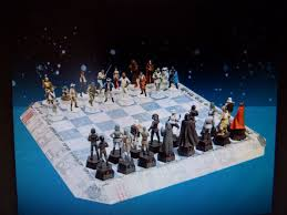 star wars chess sets star wars deagostini chess set with original board scale 1