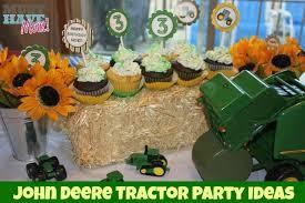 deere tractor birthday food favors more