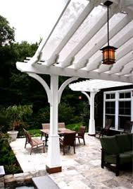 craftsman style pergola with shade cloth no sp9 by trellis
