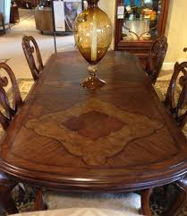 thomasville furniture dining room thomasville furniture cassara dining set table chairs u0026 curio ebay