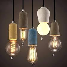 Exposed Bulb Chandelier Edison Bulb Pendant Light Fixture Bulb Pendant Light Fixture