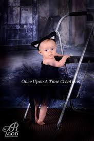 Black Cat Halloween Costume Kids Black Cat Tutu Spooky Kitty Photo Onceuponatimetutus