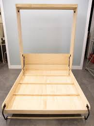 How To Attach A Footboard To A Bed Frame How To Build A Murphy Bed How Tos Diy
