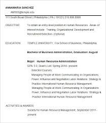 Supervisor Resume Templates Fox Of Business Resume Template Operations Supervisor