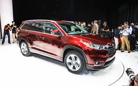 toyota sport utility vehicles 2014 toyota highlander first look automobile magazine