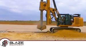 blaze equipment u0027s rental rig on a rat hole job youtube