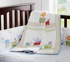 circus friends nursery bedding pottery barn kids
