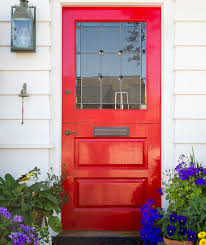 how to paint the front door how to paint a front door real simple