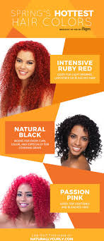 what is the hottest color try spring s hottest hair colors with bigen naturallycurly com