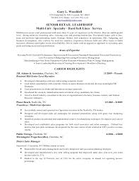 Salon Manager Resume Gary Wooddell 2011 Resume