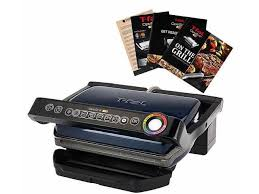T Fal Toaster T Fal Gc704 Opti Grill With Ceramic Plates U0026 Recipe Book Blue