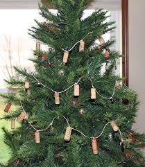 a wine cork garland without using a drill wonderstrange arts