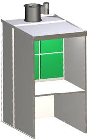 paint booths spray booths spray systems state shipping bench paint booth bsb 1000 38 paint booths