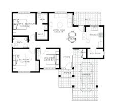 modern contemporary house floor plans plans small cottage floor plans