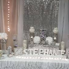 Party Table Decorations by All White Party Table Decorations U2013 New Themes For Parties