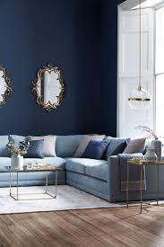 blue couch living room living room blue sofas sofa living room distressed table sectional