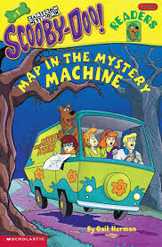 scooby doo thanksgiving map in the mystery machine by gail herman scholastic