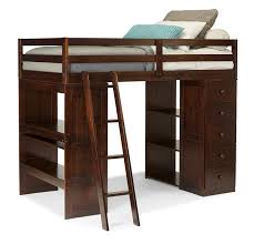 amazon com canwood skyway loft bed with desk and storage tower