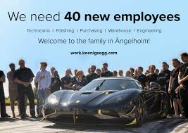 koenigsegg miami koenigsegg is hiring 40 new employees will help cut 5 year