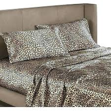 Leopard Bed Set Animal Print Bedroom Sets Expedition Quilts Accessories C Zebra