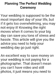 Perfect Wedding Planner Wedding Planner Book Android Apps On Google Play