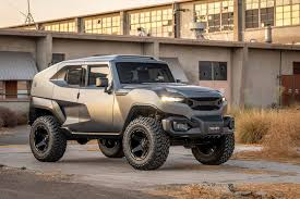 bulletproof jeep the rezvani tank is exceedingly large and appropriately named