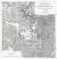 Map Of Yellowstone Park Yellowstone The World U0027s Wonderland Wyohistory Org